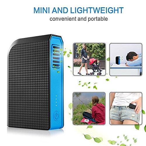 Skyocean Small Personal Fan With 6000mah Power Bank Mini