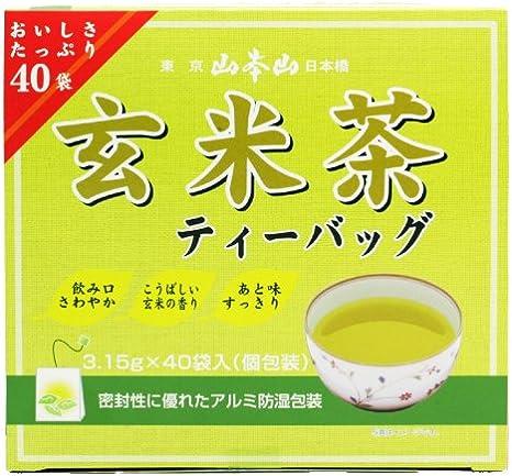 山本山 玄米茶ティーバック 40P