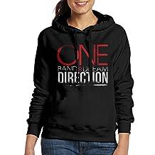 CAWOSW Women's One Direction Long Sleeve Sweatshirt Hoodies Medium