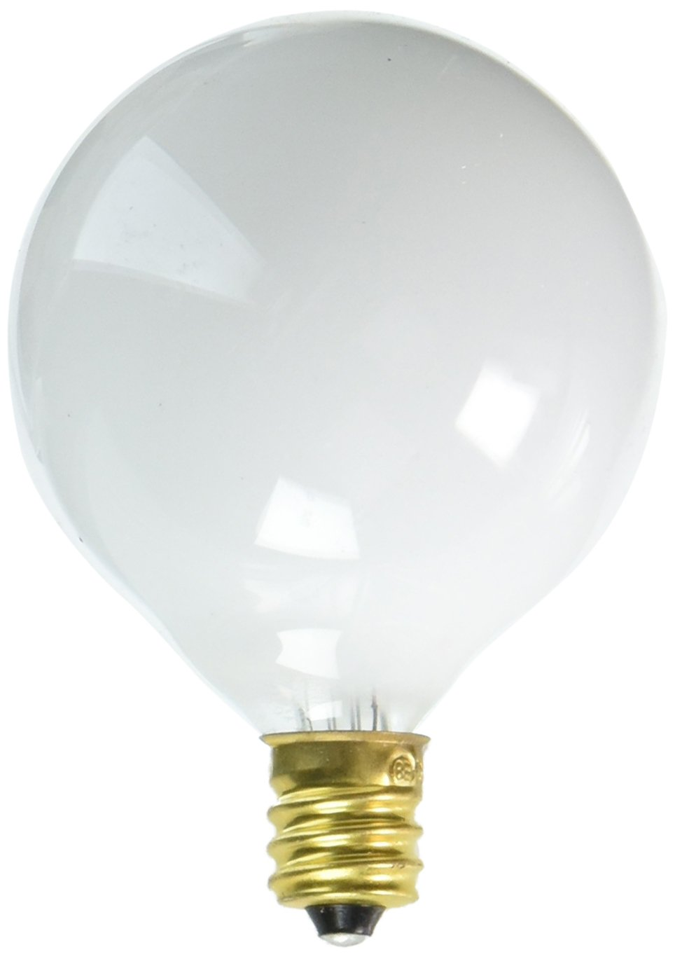 40 Pack Base with Candelabra Screw Bulbrite 861218 20 W Dimmable G16.5 Shape Incandescent Bulb E12
