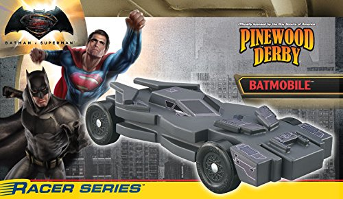 Pinewood Derby BatMan Car (Jumbo White Bunny Kit)