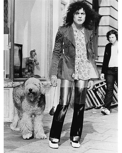 Marc Bolan 11x14 Promotional Photograph classic T.Rex star with - Photographs Classic