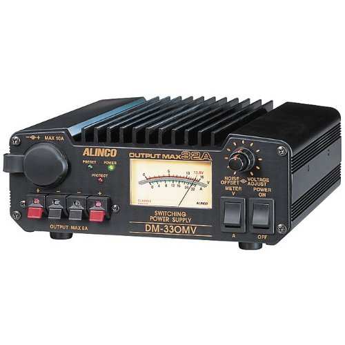 Volt Switching - Alinco DM-330MVT 30amps Continuous 32amps Max Switching Power Supply 13.8 VDC, 110V, Adjustable Volt: 5~15V