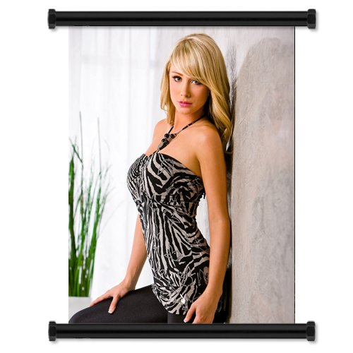 Sara Underwood model Wall Scroll Poster  Inches