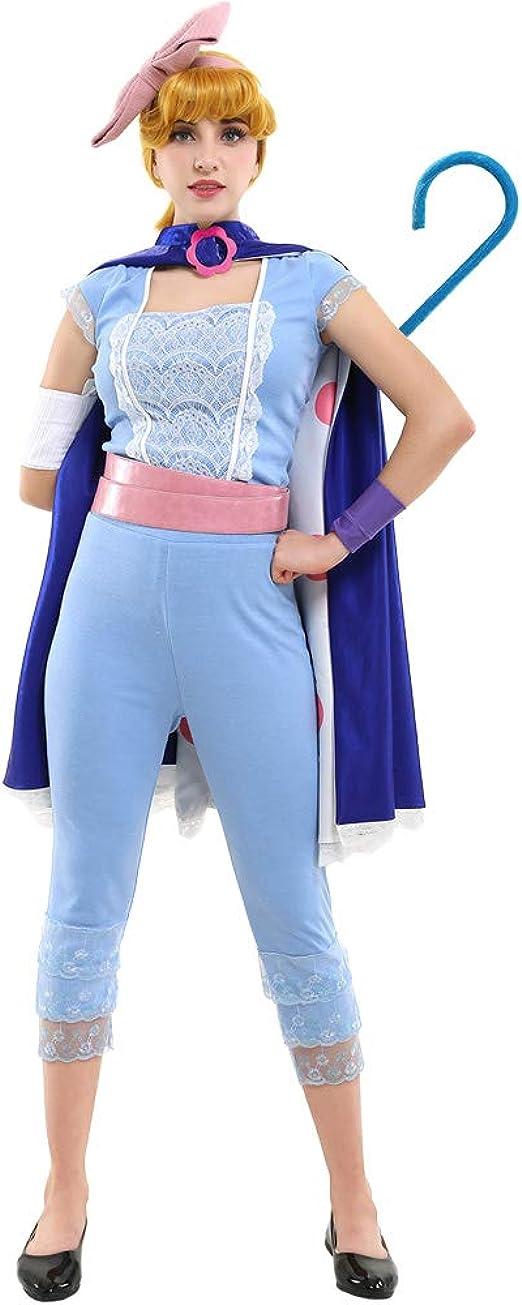 Amazon.com: Miccostumes disfraz de pastora, cosplay con capa ...