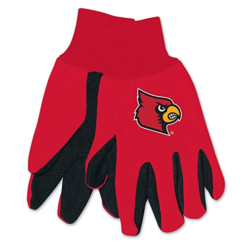 WinCraft NCAA Louisville Cardinals Two-Tone Gloves, - Cardinals Two Tone Gloves
