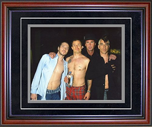 Red Hot Chilli Peppers Unsigned Framed 8x10 Photo