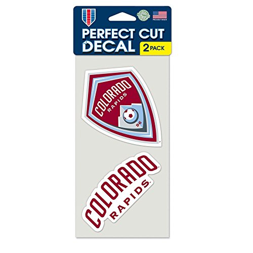 fan products of SOCCER Colorado Rapids Perfect Cut Decal (Set of 2), 4