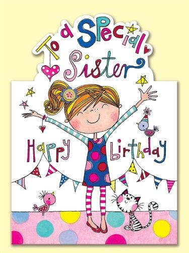Biglietto Di Compleanno Per Sorella Con Scritta In Inglese To A