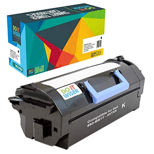 Do it Wiser Compatible Toner Cartridge Replacement for Dell S5830dn S5830 5830 593-BBYT 8XTXR (Black - 45,000 Pages)