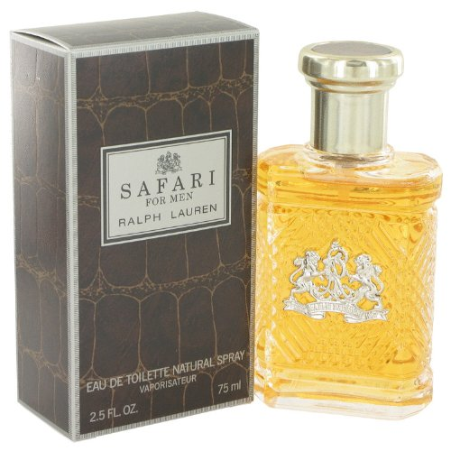SAFARI by Rálph Láúréñ for Men Eau De Toilette Spray 2.5 oz