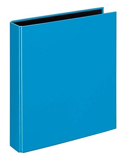 Ringbuch DIN A4 Ordner 2-Ringmechanik blau Farbe