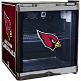 Glaros Officially Licensed NFL Beverage Center / Refrigerator - Arizona Cardinals