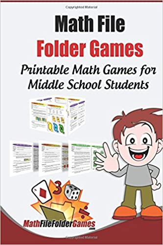 Math File Folder Games 42 Printable Math Games For Middle School