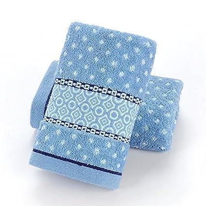 mmynl adultos toallas algodón lavar cara agua absorción toalla 75 x 35 cm