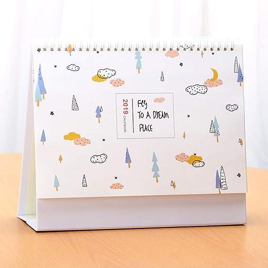 HUACANG Una Variedad De Calendarios De Escritorio con Dibujos ...