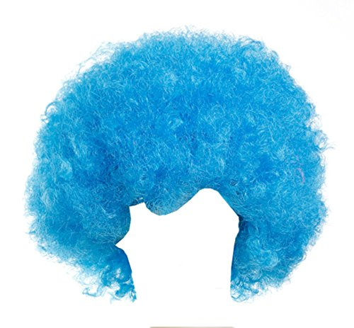 Gorse Halloween Costume Wig Cosplay Afro Clown Wig Party Funky Style for Men and Women