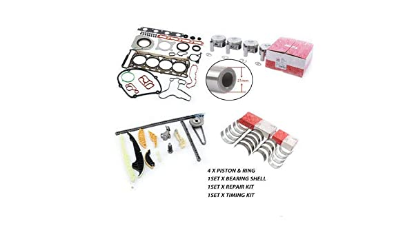New Genuine 1set for VW Tiguan Jett GTI for Audi A4 A5 A6 Q5 Timing Chain Kit