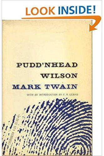 pudd nhead wilson nature vs nurture essay
