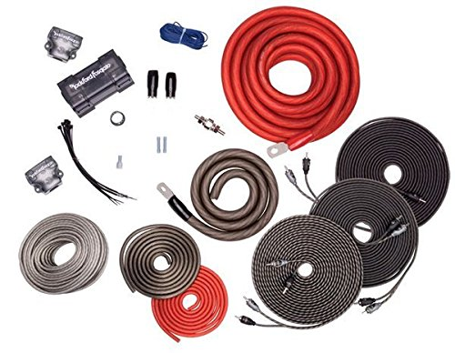 amazon com rockford fosgate rfk1d dual amp complete kit car rh amazon com dual amp wiring kit walmart dual amp wiring diagram