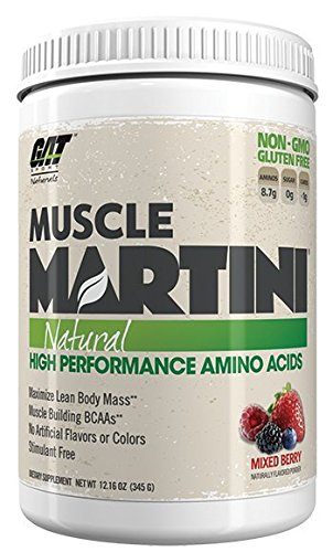 GAT Muscle Martini Natural Mixed Berry 30 Servings