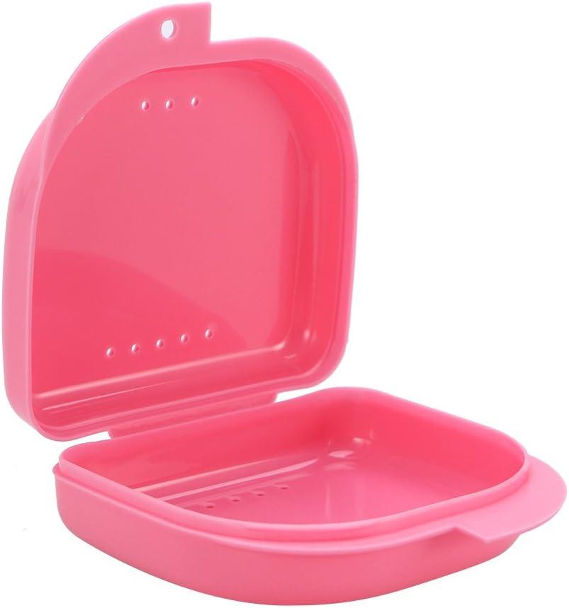 Healifty 2 Piezas Caja de Dentadura Estuche Funda para Dentaduras Protesis Dental (rosa): Amazon.es: Salud y cuidado personal