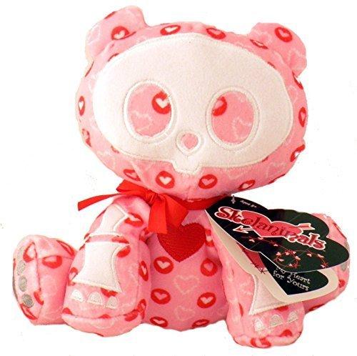 Skelanimals Valentine - Chungkee the Love Struck Panda Plush by Skelanimals - Chungkee Skelanimals Panda