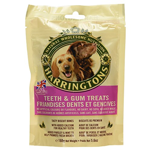 Harringtons Dog Treats Teeth & Gum Treats 160G