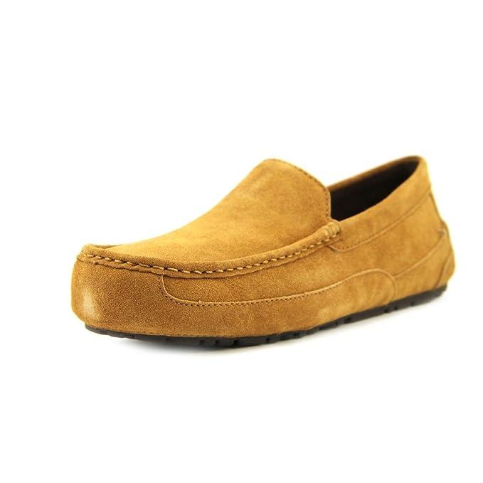 Ugg Australia M Alder Hombre Beis Slippers Zapatos Nuevo: Amazon.es: Ropa y accesorios