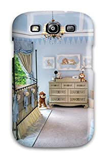High Impact Dirt/shock Proof Case Cover For Galaxy S3 (baby Boy Nursery Crib)