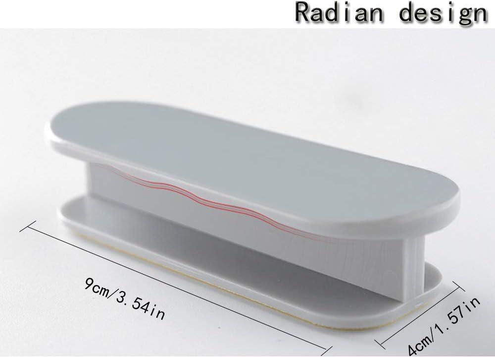 B Mirrwin Autoadesive Maniglia Manopole del Cassetto Decorazione Domestica Incollare Scorrevole Maniglia Maniglia Minimalista Moderna Adesivo Finestra Pratiche forte Adesivo Adesivi per Maniglia
