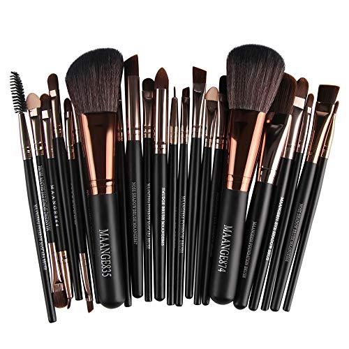 AODD Makeup Brushes Set, 22pcs Beauty Cosmetic Makeup