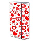 Decal Sticker Skin WRAP - Smok X Cube II 160W TC - Heart and Hearts Love Pattern