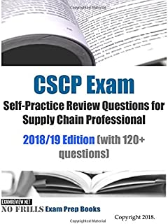 cscp exam secrets study guide cscp test review for the certified rh amazon com CSCP Salary CSCP Cambridge