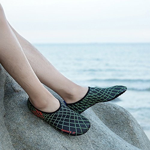 Water Beach Barefoot Saguaro Chaussettes Black Surf Yoga 3 Pour Aqua Chaussures Swim Skin qFffRB5