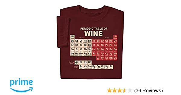 Amazon computergear funny wine t shirt chemistry periodic table amazon computergear funny wine t shirt chemistry periodic table geek nerd unisex tee clothing urtaz Image collections