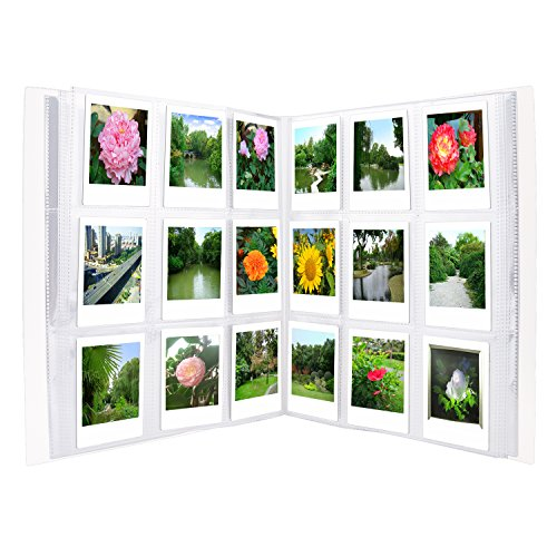 Sunmns 288 Pockets Clear Mini Photo Album for Fujifilm Instax Mini 9 8 90 8+ 7s 25 26 50s 70 Film
