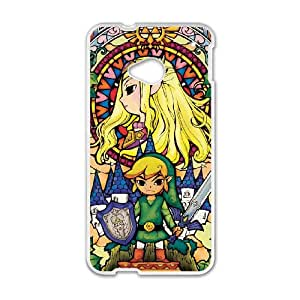 HTC One M7 Cell Phone Case White Legend of Zelda Y7423240