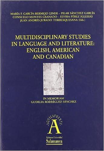 Multidisciplinary studies in language and literature,