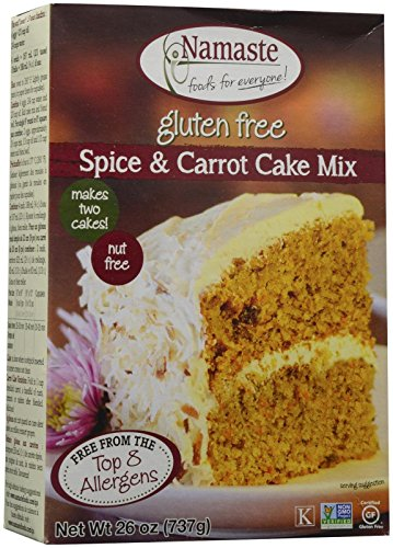 Spice Cake Mix - Namaste Foods Spice Cake Mix - 26 oz
