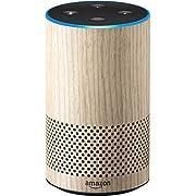 Echo (2nd Generation) - Smart speaker with Alexa - Limited Edition Oak Finish