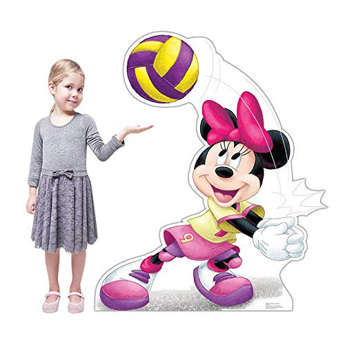 ecoration Minnie Volleyball Carboard Standup ()