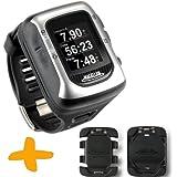 Magellan Switch UP GPS reloj deportivo w / Monturas (Crossover Reloj GPS para múltiples actividades deportivas: Correr, trotar, nadar, ciclismo, a prueba de agua a 50 metros)