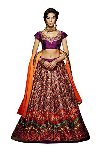 PCC Indian Women Designer Wedding Multi Lehenga Choli R-16368