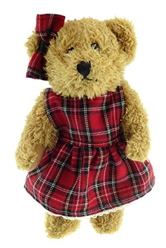 In Girl Ginger Appin Scotland Bear By Handwoven Tartan A Glen cBxnXX