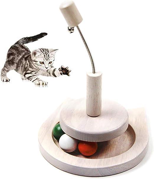 Legendog Set De Juguetes para Gatos Gatito Interactivo Gato Juguete De Pelota Mascota Juguete De Entrenamiento: Amazon.es: Productos para mascotas