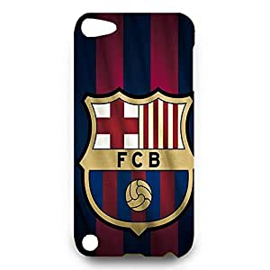 Personal Design FC FC Barcelona Team Logo Phone Case Cover For Ipod Touch 5Th 3D Plastic Phone Case
