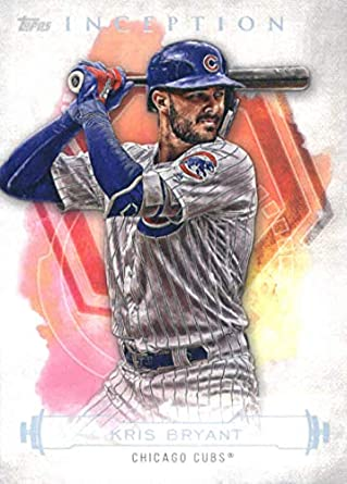 best service 124c3 4aced Amazon.com: 2019 Topps Inception Baseball #97 Kris Bryant ...