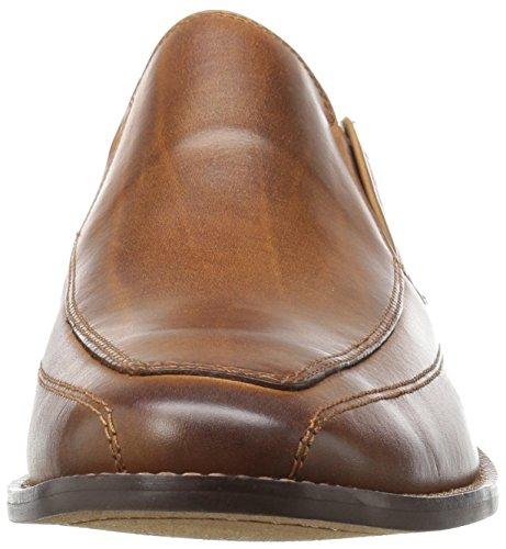 Florsheim Mens Montinaro Moc Toe Slip On Dress Scarpa Mocassino Saddle Tan