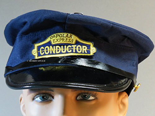 Train Style Hat - Lionel The Polar Express Deluxe Adult Conductor Hat Train
